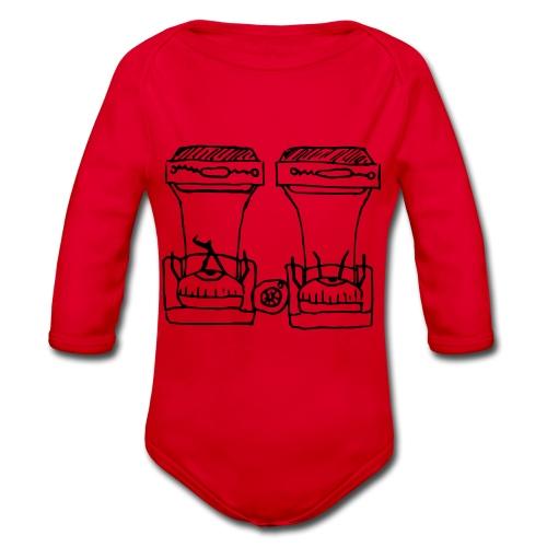 Seeing Double - Organic Longsleeve Baby Bodysuit
