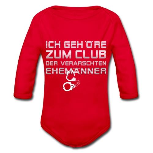 club-der-ehemaenner - Baby Bio-Langarm-Body