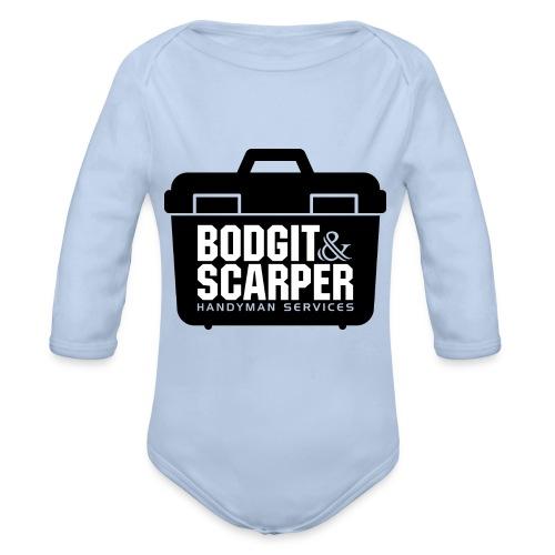 Bodgit & Scarper - Organic Longsleeve Baby Bodysuit