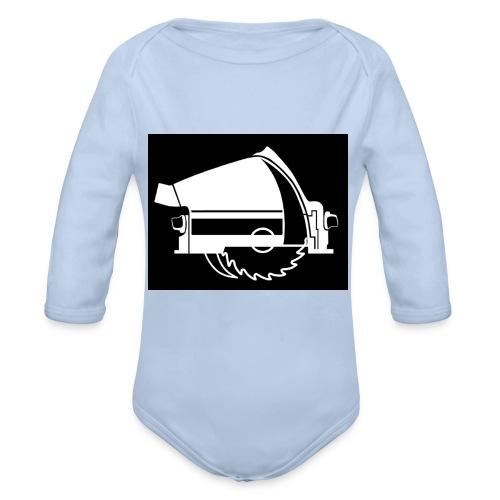 saw - Organic Longsleeve Baby Bodysuit