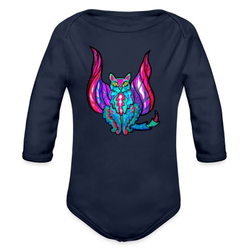 16920949-dt - Organic Longsleeve Baby Bodysuit