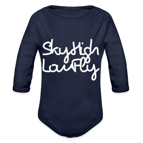 SkyHighLowFly - Bella Women's Sweater - White - Organic Longsleeve Baby Bodysuit