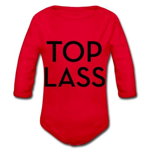 TOPLASS - Organic Longsleeve Baby Bodysuit