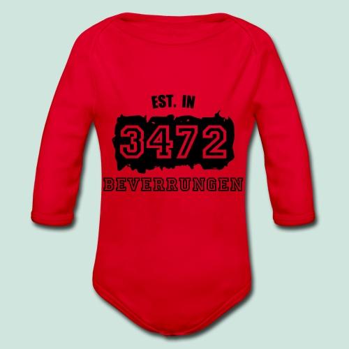 Established 3472 Beverungen - Baby Bio-Langarm-Body