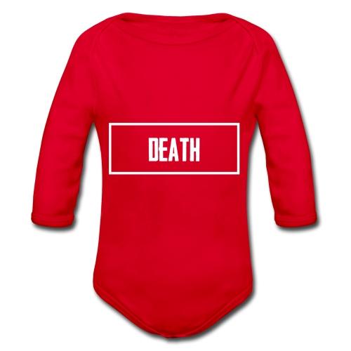 Death - Organic Longsleeve Baby Bodysuit