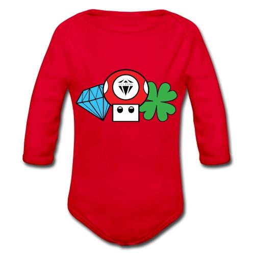ILG Mushroom - Body ecologico per neonato a manica lunga