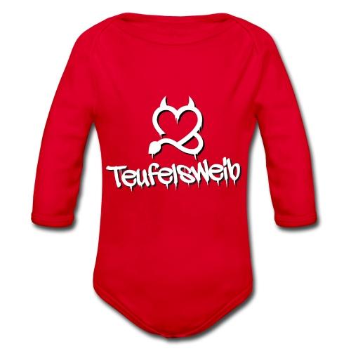 Teufelsweib - Baby Bio-Langarm-Body