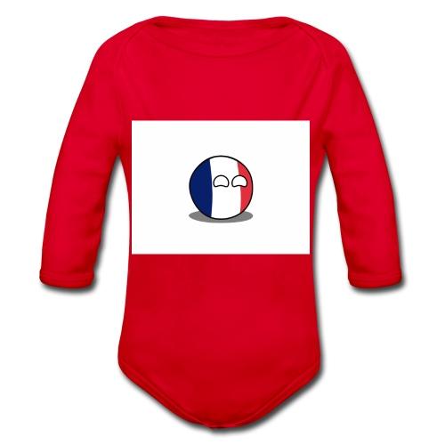France Simple - Body Bébé bio manches longues