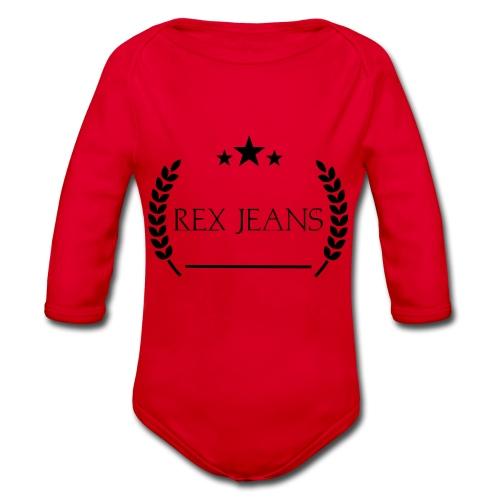 Rex Jeans - Baby Bio-Langarm-Body