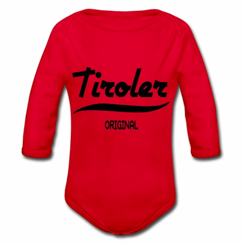 Tirol - Baby Bio-Langarm-Body