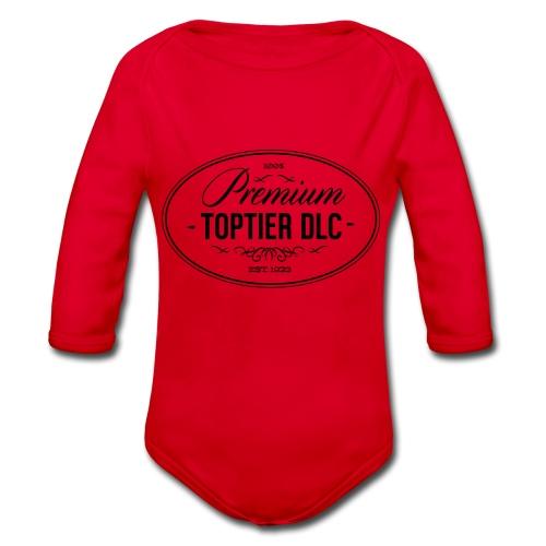 Top Tier DLC - Organic Longsleeve Baby Bodysuit
