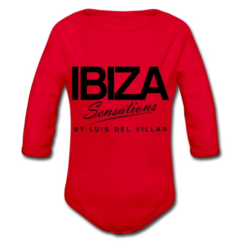 Cooking Apron Ibiza Sensations - Body orgánico de manga larga para bebé