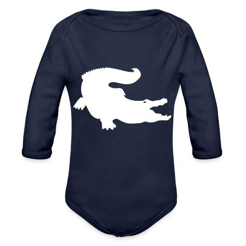 Metal Gear Online - Crocodile Rank - Body ecologico per neonato a manica lunga