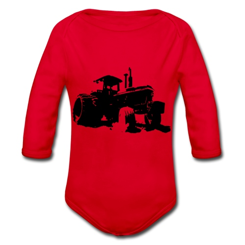 JD4840 - Organic Longsleeve Baby Bodysuit