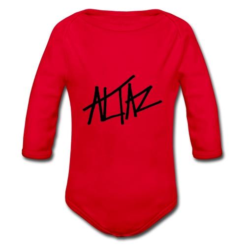 Altaz Clean Logo - Ekologisk långärmad babybody