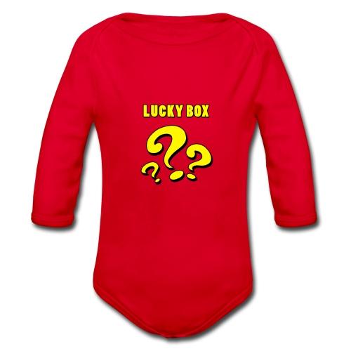 Lucky Box - Ekologisk långärmad babybody