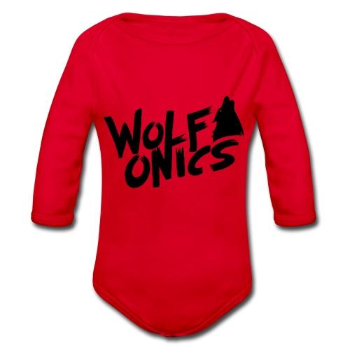Wolfonics - Baby Bio-Langarm-Body
