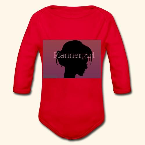 Plannergirl Kollektion - Baby Bio-Langarm-Body