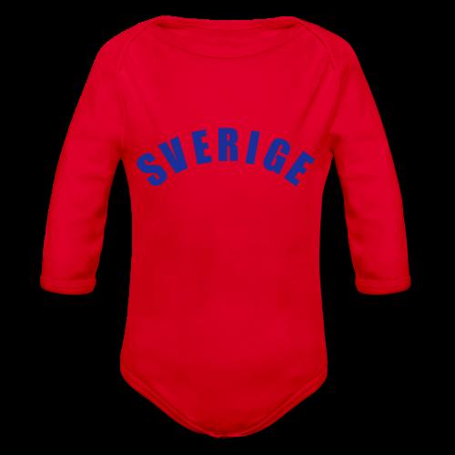 T-shirt, Sverige - Ekologisk långärmad babybody