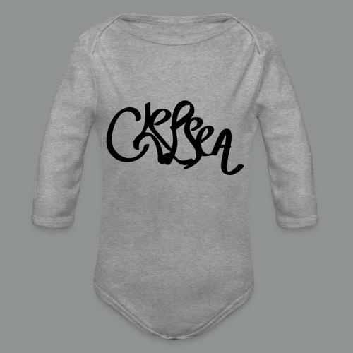 Kinder/ Tiener Shirt Unisex (rug) - Baby bio-rompertje met lange mouwen