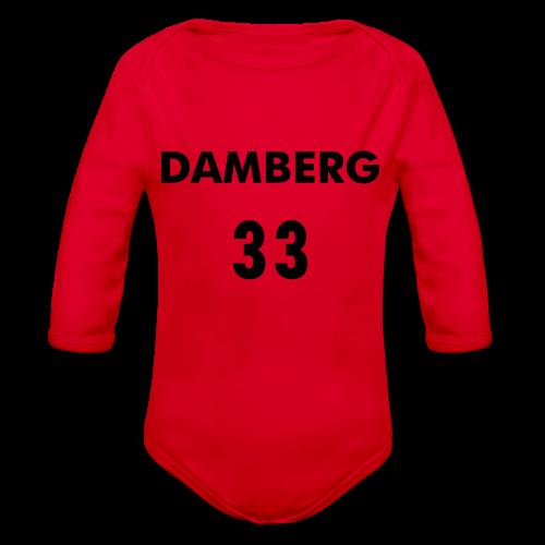 _DAMBERG_33 - Ekologisk långärmad babybody
