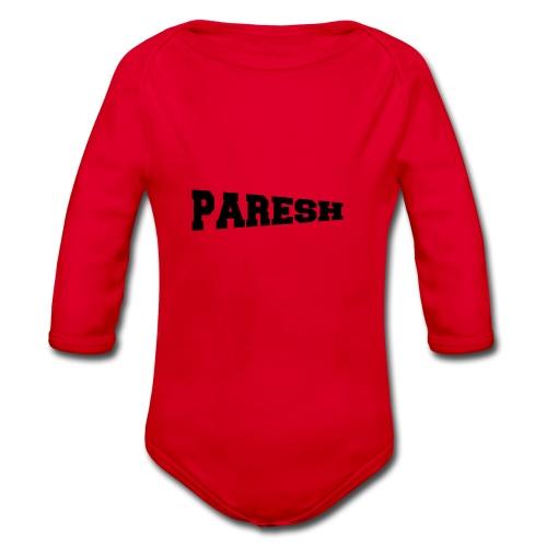 Paresh - Organic Longsleeve Baby Bodysuit