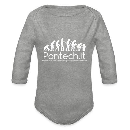 Pontech.it - Body ecologico per neonato a manica lunga