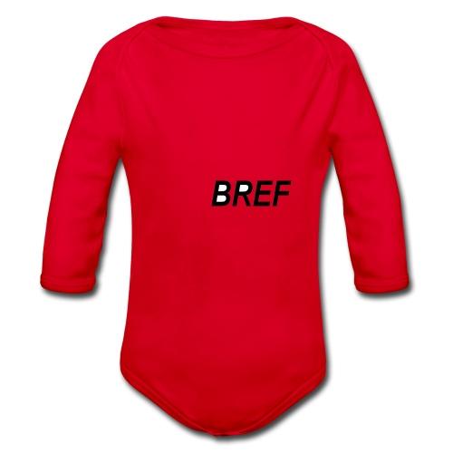 BREF - Body bébé bio manches longues
