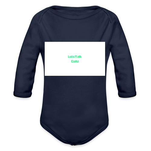 LetsTalk ColU - Organic Longsleeve Baby Bodysuit
