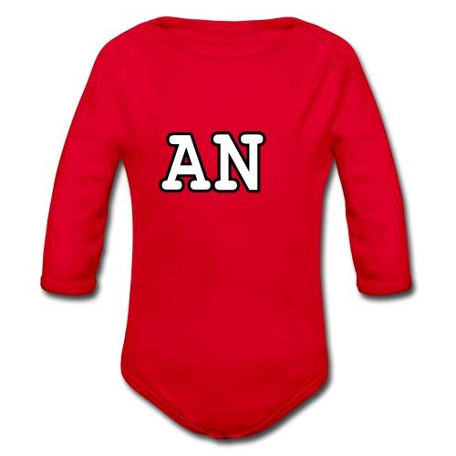 Alicia niven Merch - Organic Longsleeve Baby Bodysuit