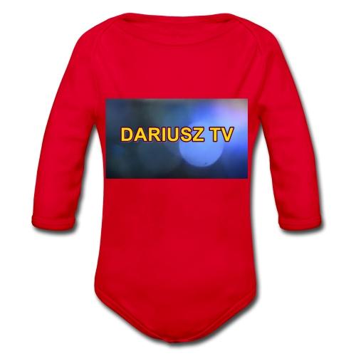 DARIUSZ TV - Ekologiczne body niemowlęce z długim rękawem