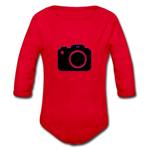 FM camera - Organic Longsleeve Baby Bodysuit