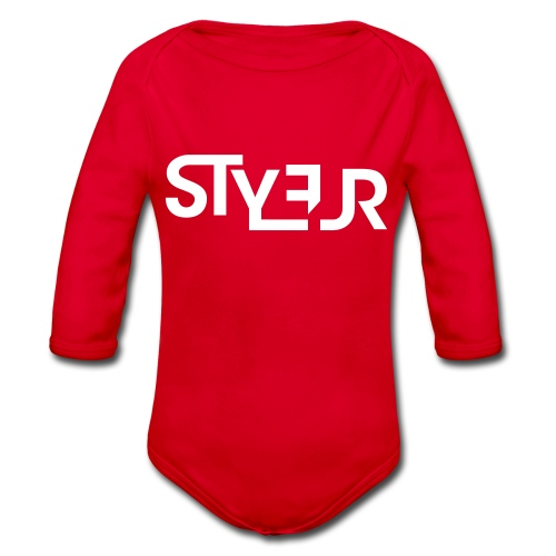 styleur logo spreadhsirt - Baby Bio-Langarm-Body