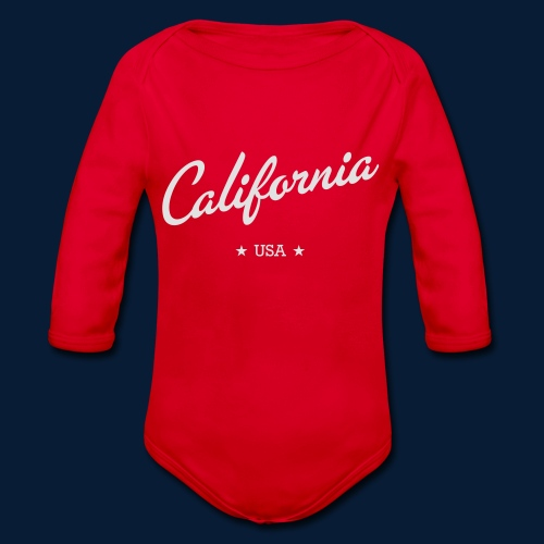 California - Baby Bio-Langarm-Body