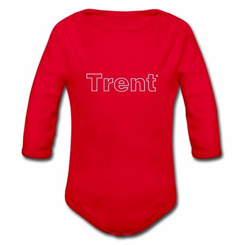 TRENT classic white - Organic Longsleeve Baby Bodysuit
