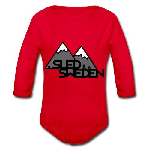 SledSweden Official Logo - Ekologisk långärmad babybody