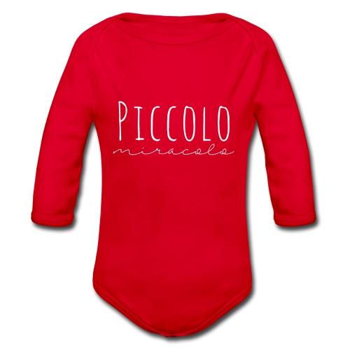 Piccolo Miracolo - Body ecologico per neonato a manica lunga