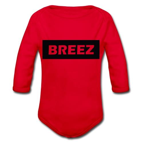 Breez Identity II - Langærmet babybody, økologisk bomuld