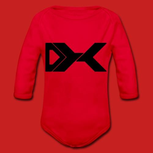 Duxier Logo - Baby bio-rompertje met lange mouwen