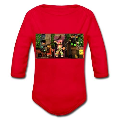 SAMMY&TINA2 - Organic Longsleeve Baby Bodysuit