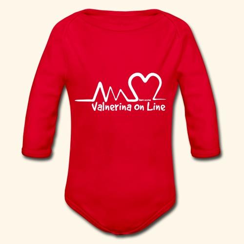 Valnerina On line APS maglie, felpe e accessori - Body ecologico per neonato a manica lunga