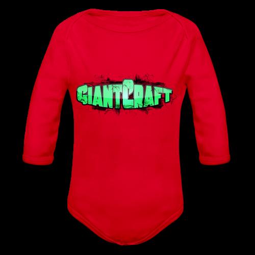 Dame T-Shirt - GiantCraft - Langærmet babybody, økologisk bomuld