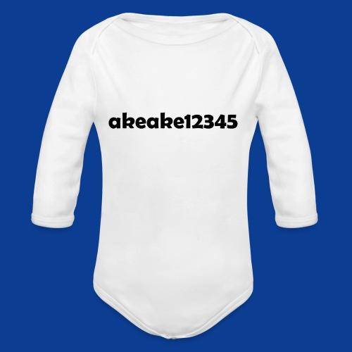 My new shirt - Organic Longsleeve Baby Bodysuit