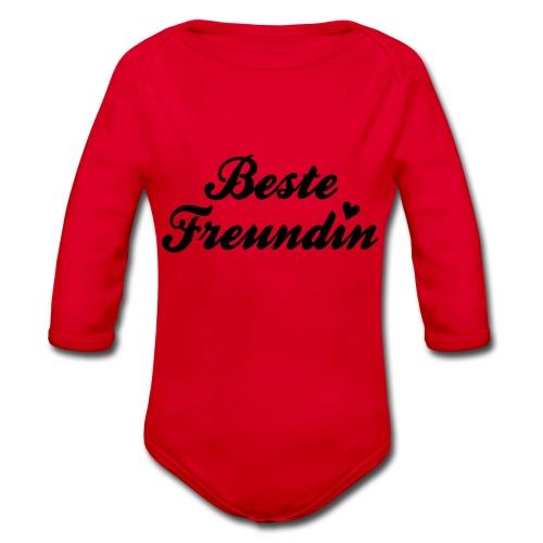 Beste Freundin - Baby Bio-Langarm-Body