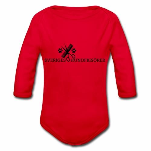 SVHFs rektangulära logo - Ekologisk långärmad babybody