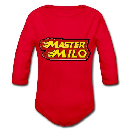 MasterMilo - Baby bio-rompertje met lange mouwen