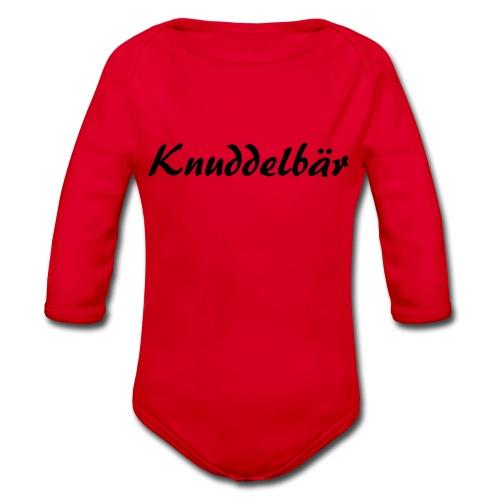 Knuddelbär - Baby Bio-Langarm-Body