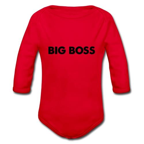 Big Boss - Baby Bio-Langarm-Body