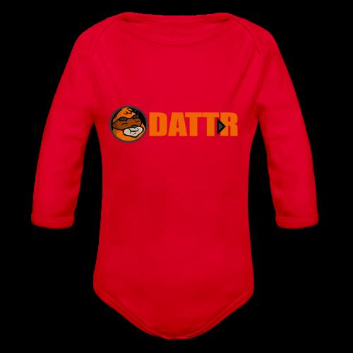 dattr team - Organic Longsleeve Baby Bodysuit
