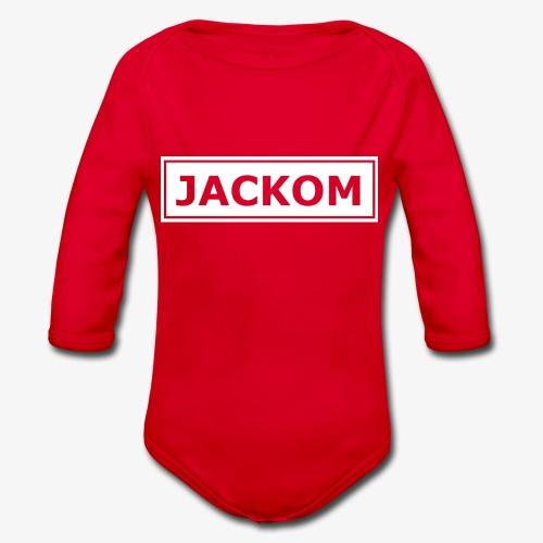 Jackom - Body ecologico per neonato a manica lunga
